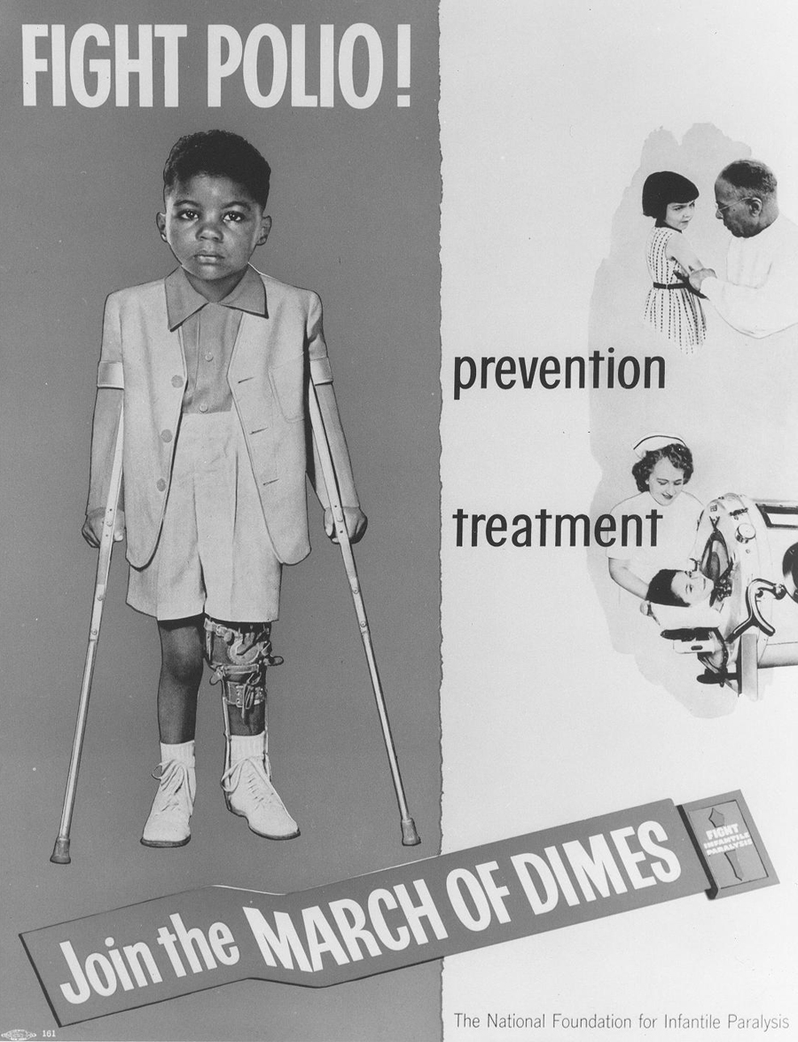 The will to work together to solve an epidemic: Polio in 1952